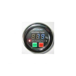 Gauge/Controller Black Water 12/24V
