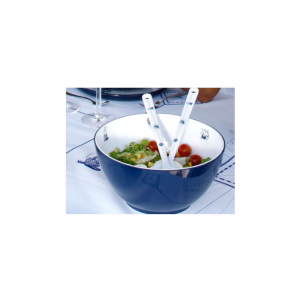Melamine Salad Bowl with Serve Cutlery