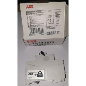 RCBO AAB B 16/0, 03A 1P+N