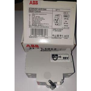 RCBO AAB C 4/0,03A 1P+N 6kA