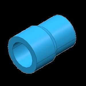 Socket reducing 25x20mm Niron PPR