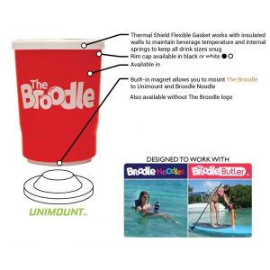 Broodle Drink Holder with Unimount