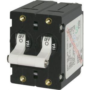 Circuit Breaker AA2 Toggle 16A Wht