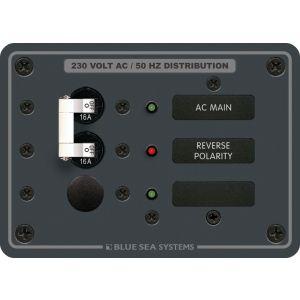 Panel 230V AC 3POS w/Main