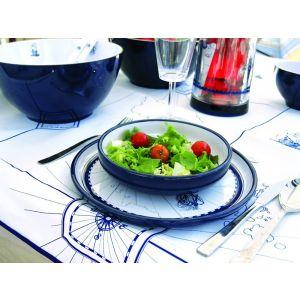 Melamine Soup Plates, Set of 6