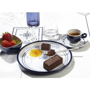 Melamine Dessert Plates, Set of 6