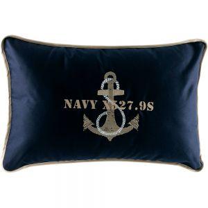 Cushion Case & Stuffing Anchor BL Navy 2 units