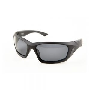 Sunglass SAN JUAN Black frame, Grey lens  polarized 1.1mm acetate