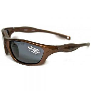 Sunglass KUTA Brown frame, Grey lens  polarized 1.1mm triacetate