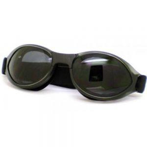 Goggle ARFA Smoke frame, Grey lens  non polarized polycarbonate