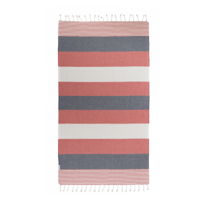 Hammamas  Towel RESORT Red/Navy