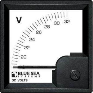 Volt Meter DIN DC 18-32V