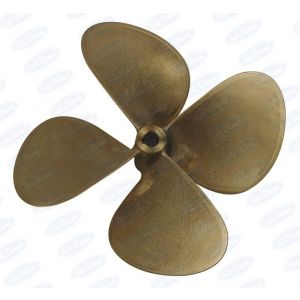"""Propeller 38""""x28"""" (dia. x pitch) 4 Blades Right Hand MnBr (Manganese Bronze)"""