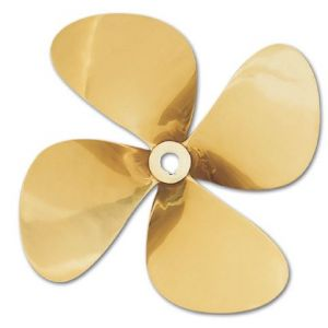 """Propeller 25""""x17"""" (dia. x pitch) 4 Blades Right Hand MnBr (Manganese Bronze)"""